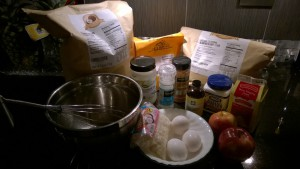 Apple Cinnamon Muffin Ingredients