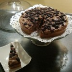 Blueberry Chocolate Cake Gluten Free