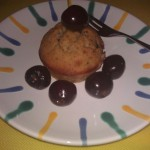 Cherry Chocolate Muffin