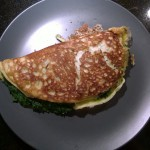 Paleo Spinach Omelet