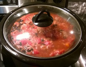 Black Bean Chili Crockpot
