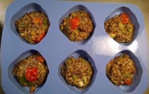 Quinoa Muffins with tuna