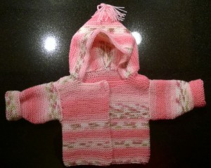 Baby Sweater Front