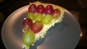 Cream Cheese Grape Tart